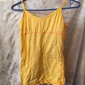 delia*s Yellow cami-medium